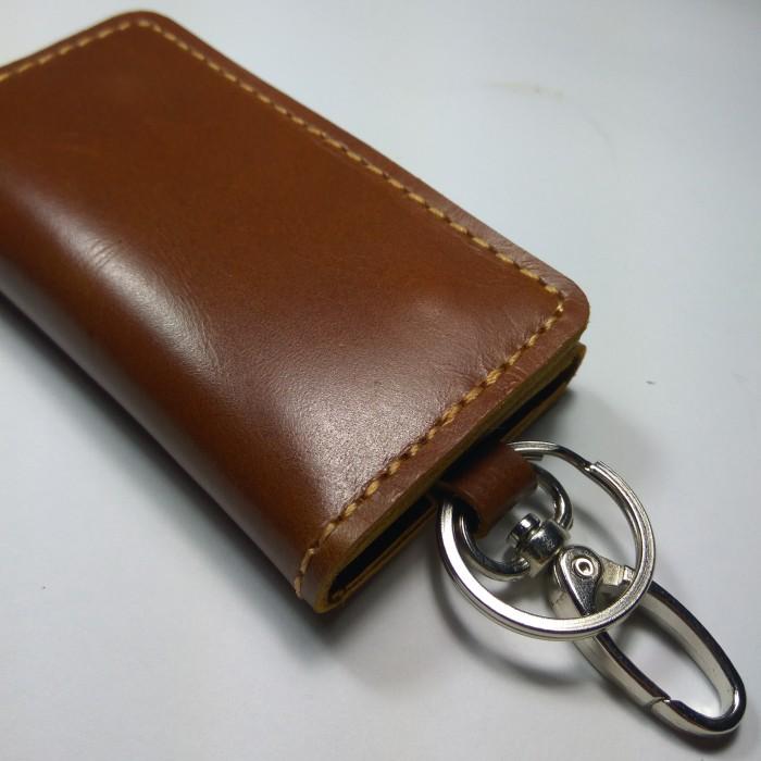 dompet stnk kulit asli lipat tiga | gantungan kunci mobil motor