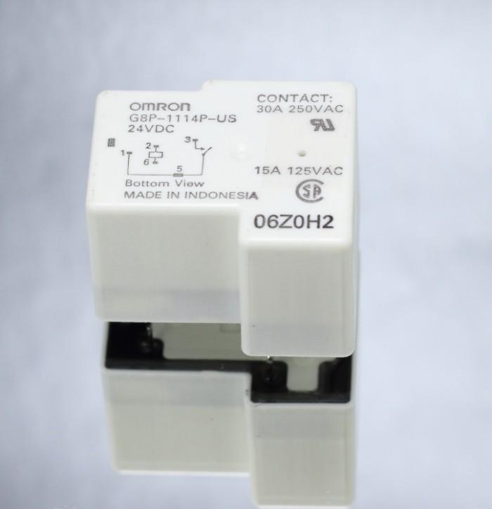harga Omron g8p-1114p relay 30a 24vdc pcb mount plastic sealed Tokopedia.com