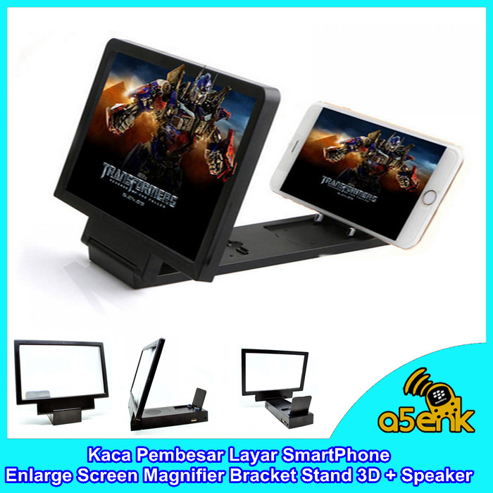 harga Kaca pembesar layar enlarge screen magnifier bracket stand 3d+speaker Tokopedia.com