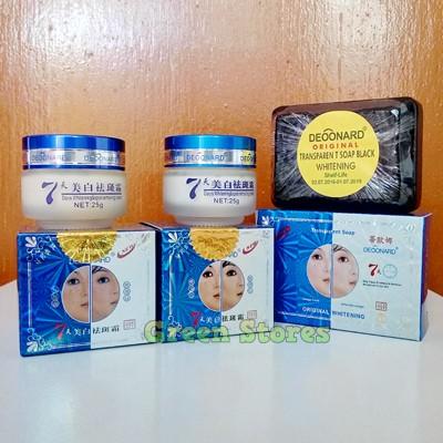 Paket Cream Deoonard Blue 7 Days 25Gr | Cream Deoonard Biru