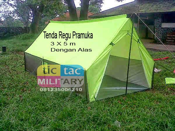 harga Tenda pramuka regu 3x5 dengan alas Tokopedia.com
