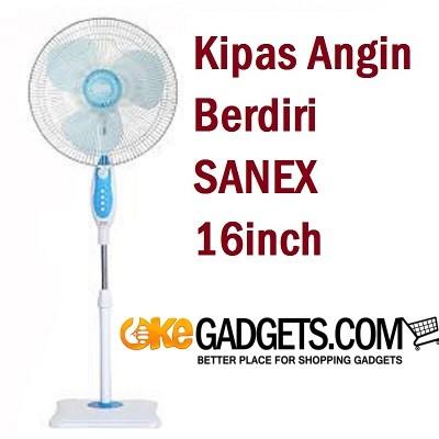 harga Kipas Angin Berdiri Sanex Fs-887 Stand Fan 16 Inch Tokopedia.com