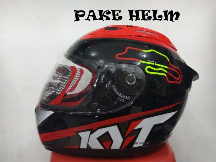 harga Helm kyt rc 7 rc seven motif spain black full face rc7 Tokopedia.com
