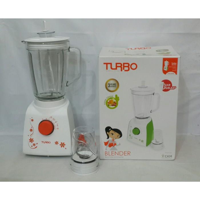 Turbo blender gelas kaca +drymill ehm 8098
