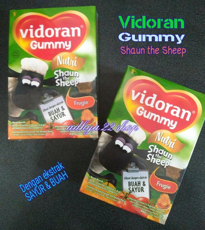 Kehebatan Vidoran Gummy Shaun The Sheep Frugie 10s Dan Harga Update Source · Vidoran Gummy ekstrak