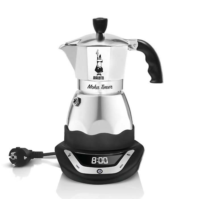 harga Bialetti moka timer espresso maker electric coffee pot 6 cups Tokopedia.com