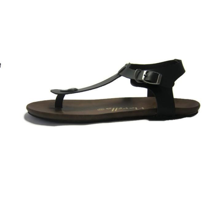 Morello Sandal Mens Japit - Hitam