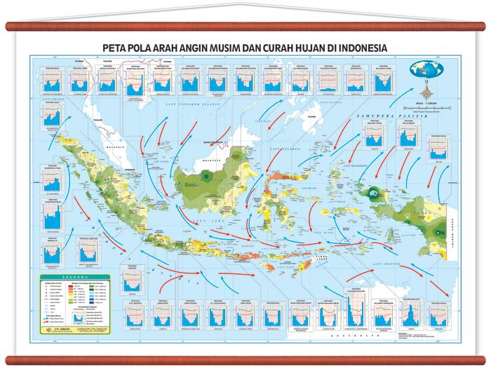 Pola Peta Indonesia - Paimin Gambar