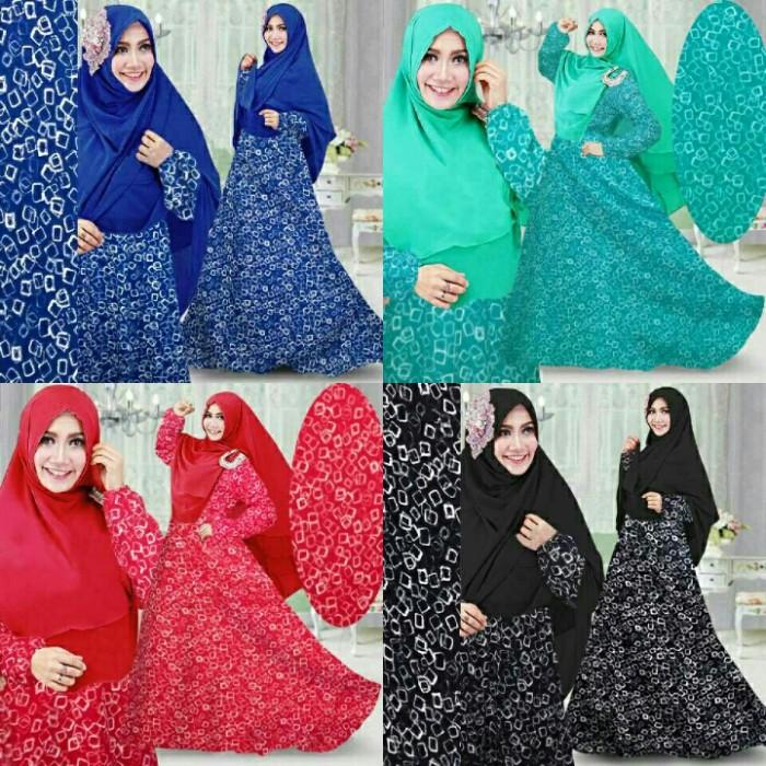 Foto Produk baju muslim gamis syari amila syari.longdress muslim gamis mewah dari fashion_murah