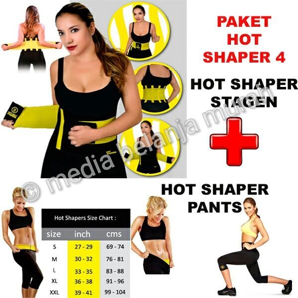 249ae8429f Jual PAKET HOT SHAPER 4 - SHAPER PANTS   STAGEN - BAJU OLAHRAGA UNIK ...