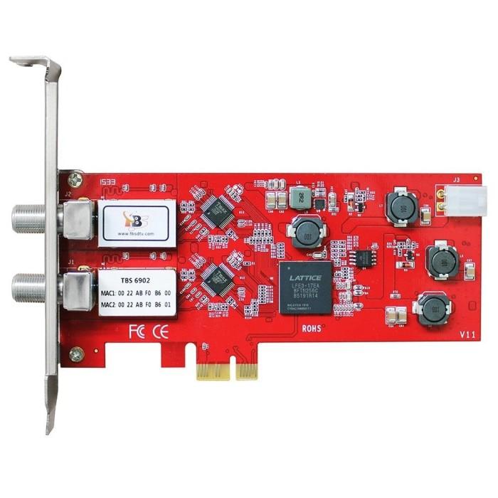 harga Tbs6902 Dvb-s2 Dual Tuner Pcie Card Tokopedia.com
