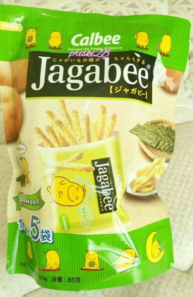harga Calbee jagabee seaweed pouch japan Tokopedia.com