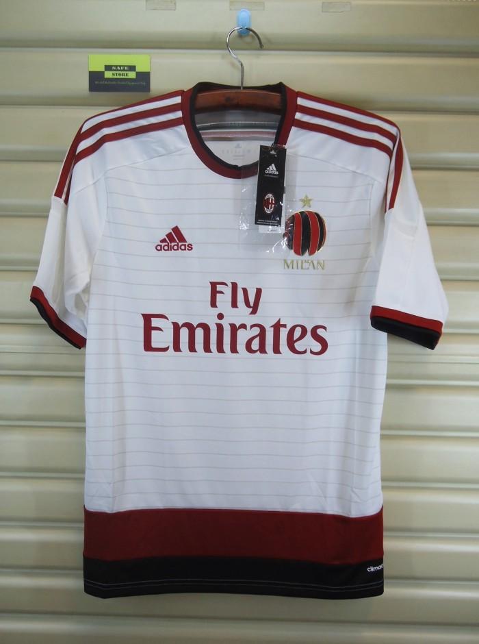 harga Ac milan 2014-15 away. bnwt. original jersey Tokopedia.com