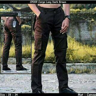 Impresif Celana Cargo Celana Petualang Military Cream Murah Daftar Source · CELANA CARGO PANJANG DARK BROWN