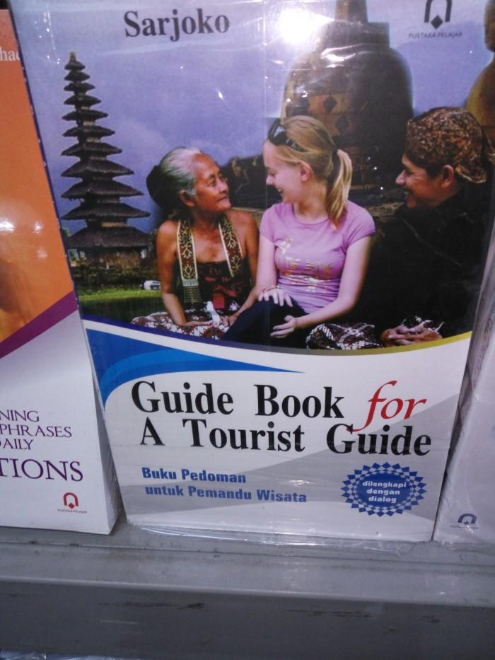 harga Guide book for a tourist guide buku pedoman untuk pemandu wisata Tokopedia.com