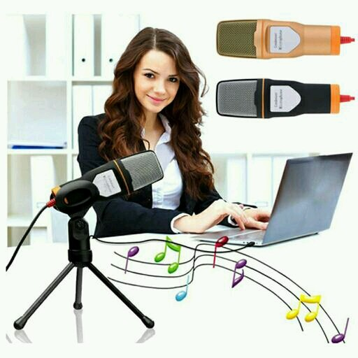 harga Microphone mic pc laptop 3.5mm recording chatting audio karaoke studio Tokopedia.com