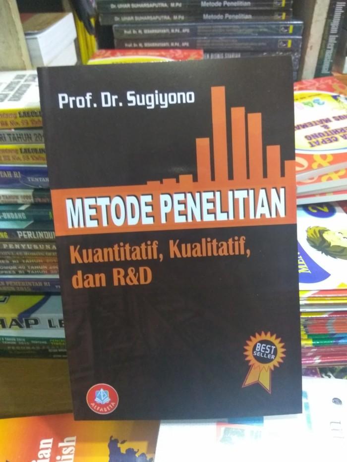 harga Metode penelitian kualitatif kuantitatif dan r&d  prof.dr.sugiyono Tokopedia.com