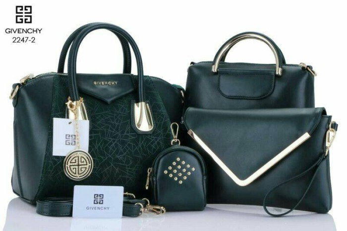 f2112d434936 Jual Givenchy antigona Grafity Grained Hw GOLD 4in1(2247-2) Dark ...