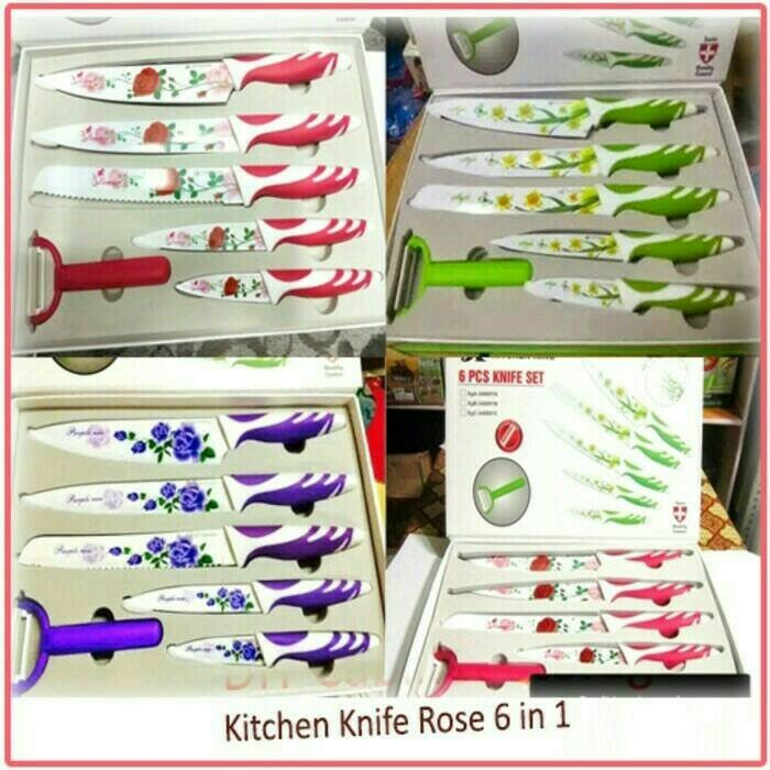 Jual pisau set kitchen king tya collection grosir for Jual peralatan kitchen set