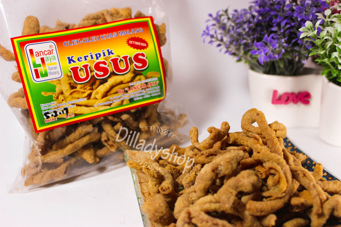 Jual Keripik Usus Ayam Kota Malang Dilladyshop Tokopedia