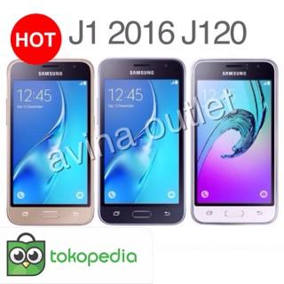 Samsung Galaxy J1 2016 - J120 - 8GB - RESMI - Hitam