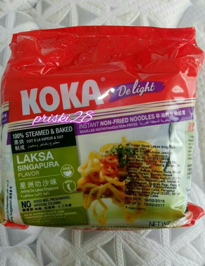 harga Koka delight laksa singapore flavor Tokopedia.com