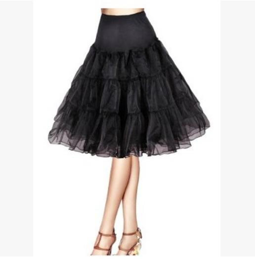 harga Petticoat hitam pendek untuk dewasa tanpa lapisan kawat Tokopedia.com