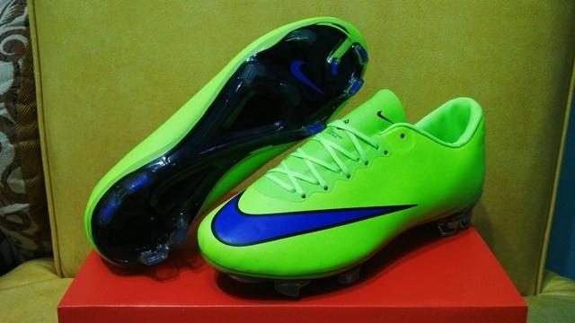 192e43017 ... inexpensive sepatu bola soccer nike mercurial vapor x green volt fg  c2237 62056