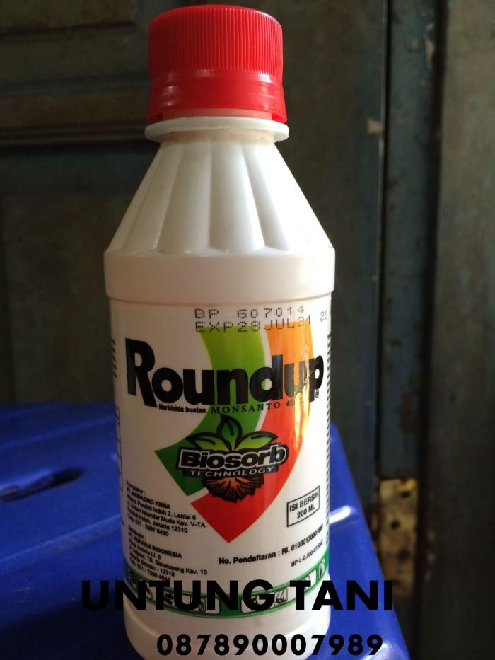 harga Herbisidan roundup 486 sl isi 200 ml Tokopedia.com