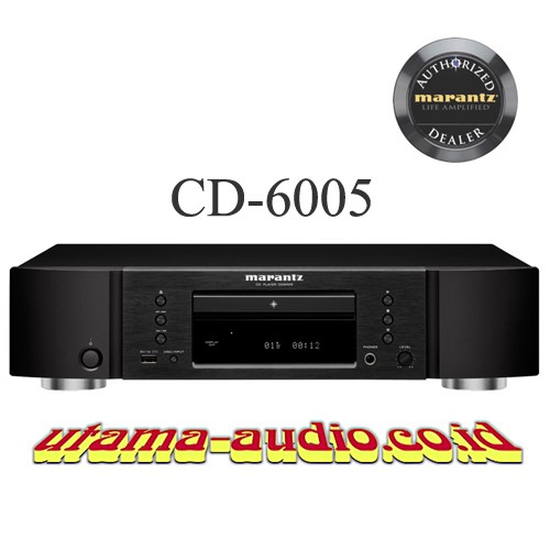 harga Marantz cd 6005 / cd6005 cd player usb-a input for iphone/ipod Tokopedia.com