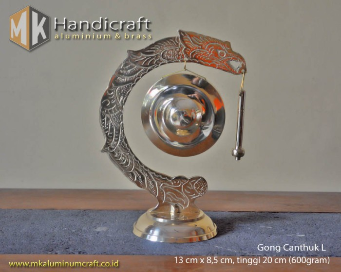harga Miniatur gong naga / gong cantuk kuningan ukuran l (large) Tokopedia.com