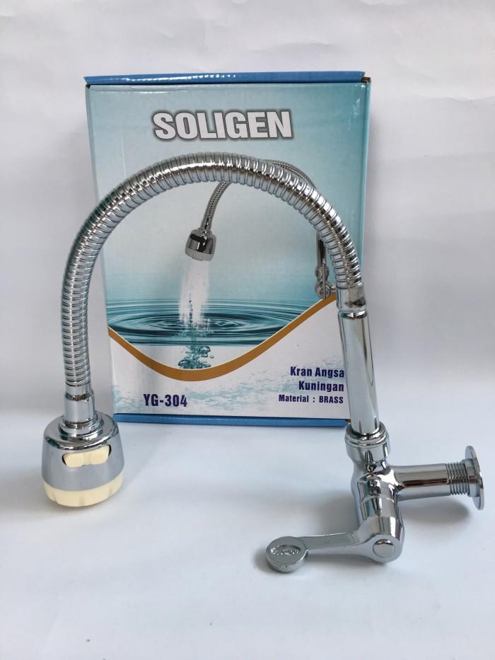 harga Kran cuci piring angsa flexible engkol kuningan soligen Tokopedia.com
