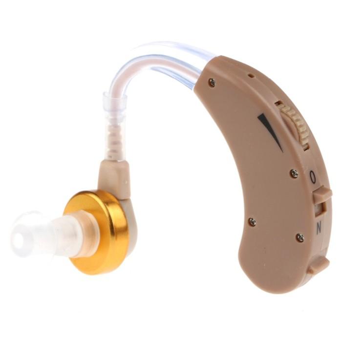 Powertone Earphone Alat Bantu Dengar Pengeras Suara Hearing Aid- F-138