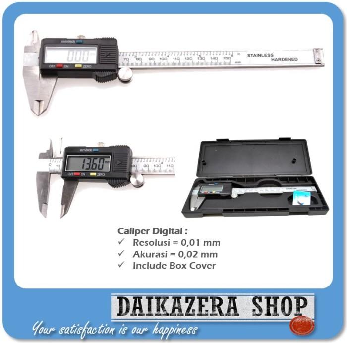 harga Jangka Sorong Digital Digital - Stainless Steel Tokopedia.com