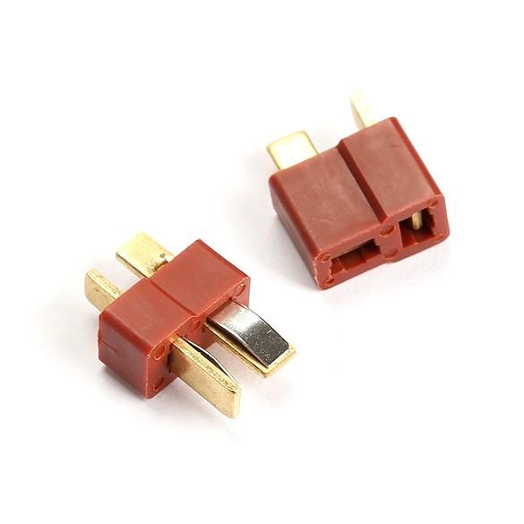 Foto Produk RC Lipo Battery T Plug Connectors Male Female dari HTMB Store