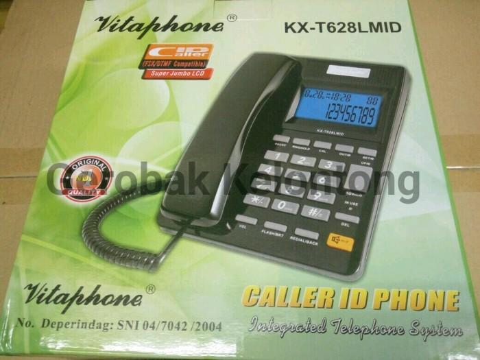 harga Pesawat telepon vitaphone / telepon rumah kx-t628lmid Tokopedia.com