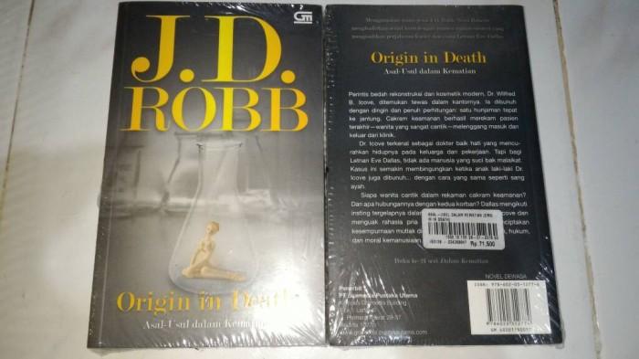 harga Novel dewasa j.d. robb origin in death asal usul dalam kematian jd Tokopedia.com