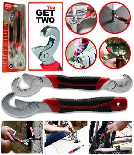 harga Snap n grip magic wrench set kunci pas inggris multi fungsi Tokopedia.com