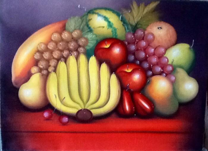 harga Lukisan buah buahan 80x60 simbol hadirkan kelimpahan makanan di rumah3 Tokopedia.com