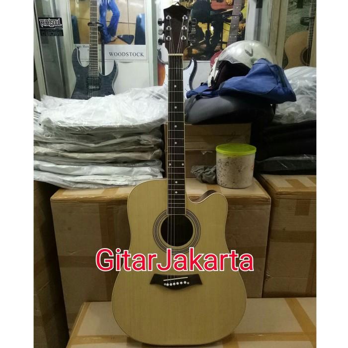 Gitar Akustik Natural Merk Taylor Murah Jakarta
