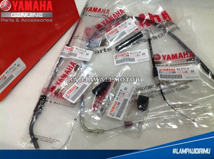 harga Kabel gas rx king set/ kit asli yamaha Tokopedia.com