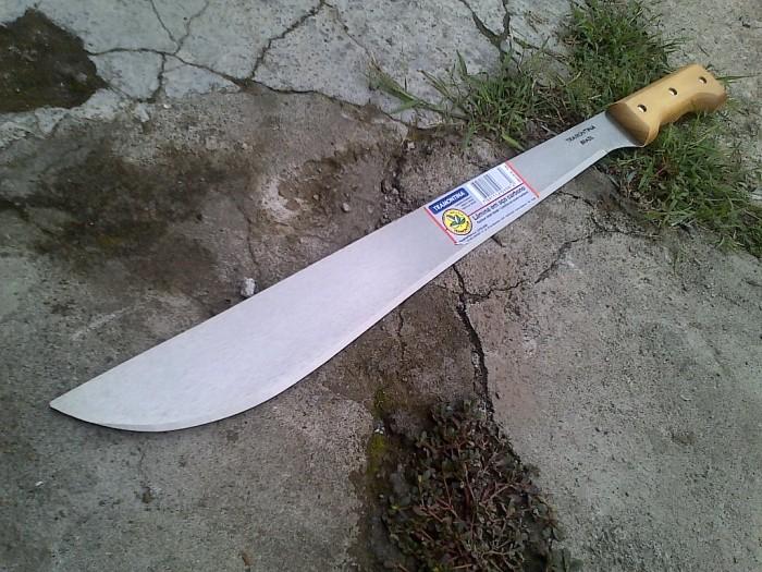 harga Tramontina gagang kayu kotak 18 inchi golok professional asli brazil Tokopedia.com