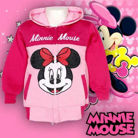 harga Jaket anak perempuan minnie mouse sweater karakter cewek 2-7 tahun Tokopedia.com