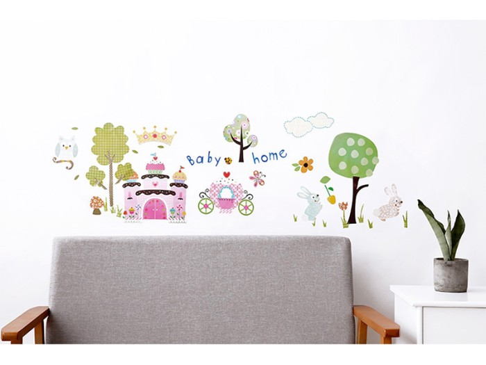 jual roommates decorative wall decals sticker dinding decoration