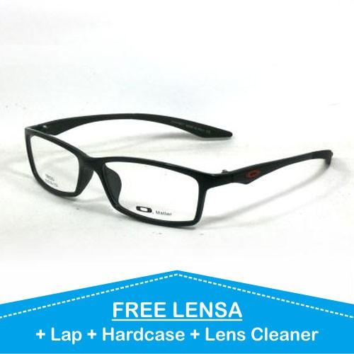 Frame kacamata pria vintage minus oakley matte tr h antiradiasi 53c945e543