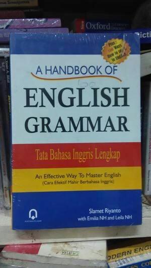 harga A handbook of english grammar tata bahasa inggris lengkap Tokopedia.com