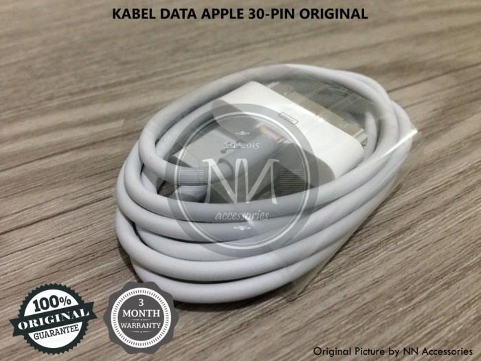 30-pin original harga Kabel data usb apple iphone 3gs 4g 4s .