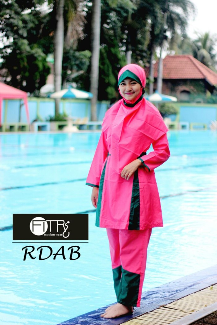 Baju Renang Muslimah RDAB