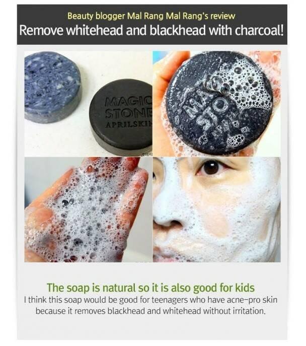 Jual april skin magic stone black - Preloved Items | Tokopedia