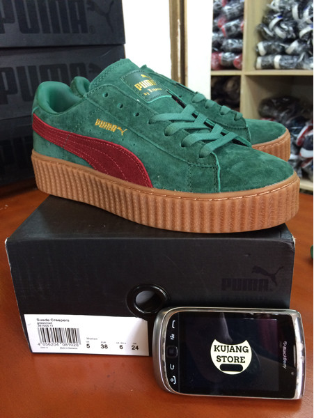 huge discount 3b8ab cc7df Jual Sepatu Puma Fenty X Rihanna suede creepers green red original BNIB -  Kota Bandung - Kujang Store | Tokopedia